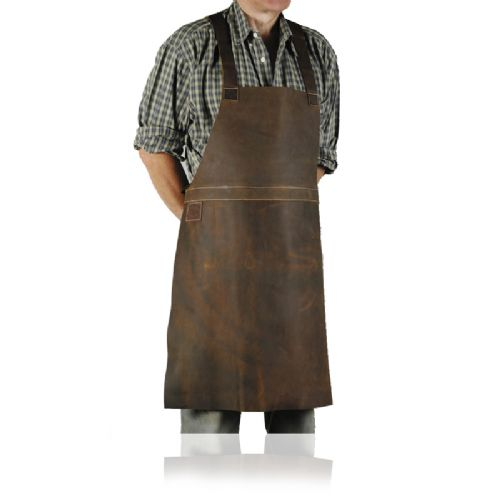 Gibbins Continental Leather Apron